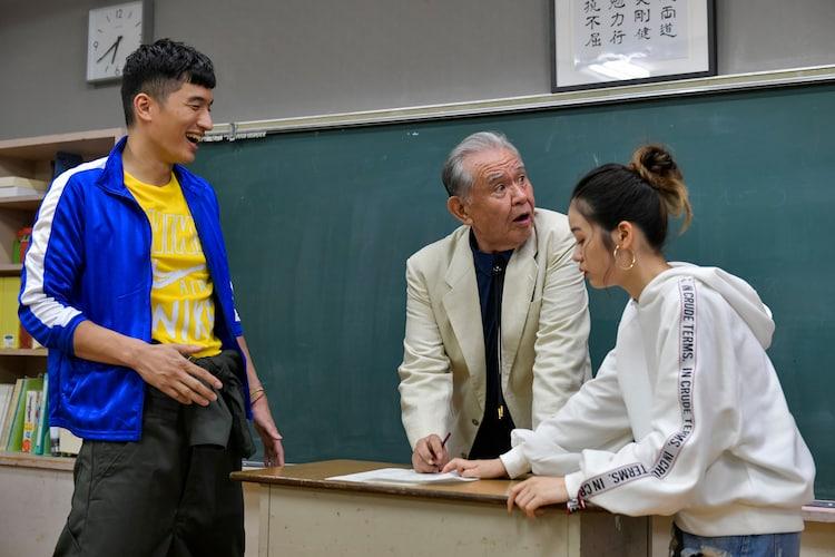 「ワンモア」より、左から鈴之助、渡辺哲、森田想。