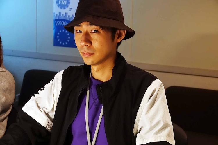 森本晋太郎演じる近田。