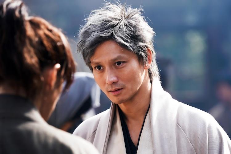 「るろうに剣心 最終章 The Beginning」より、安藤政信演じる高杉晋作。