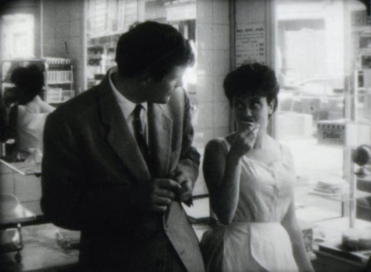 「モンソーのパン屋の女の子」 (c)1962 Les Films du Losange