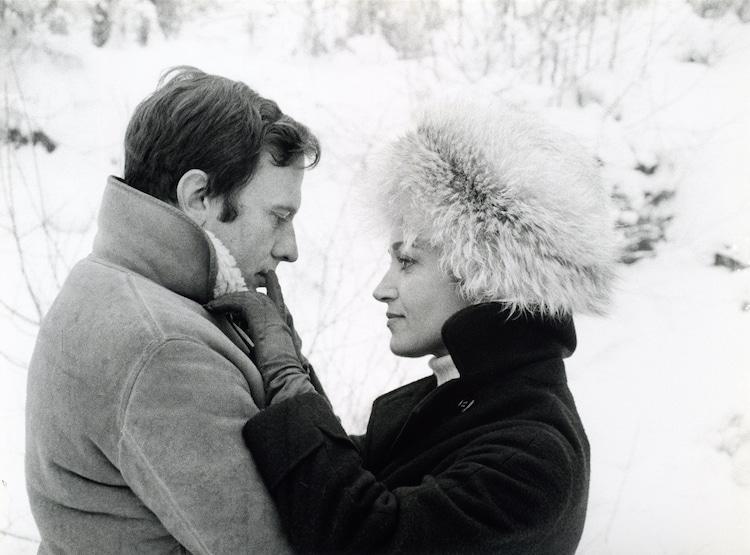 「モード家の一夜」 (c)1968 Les Films du Losange
