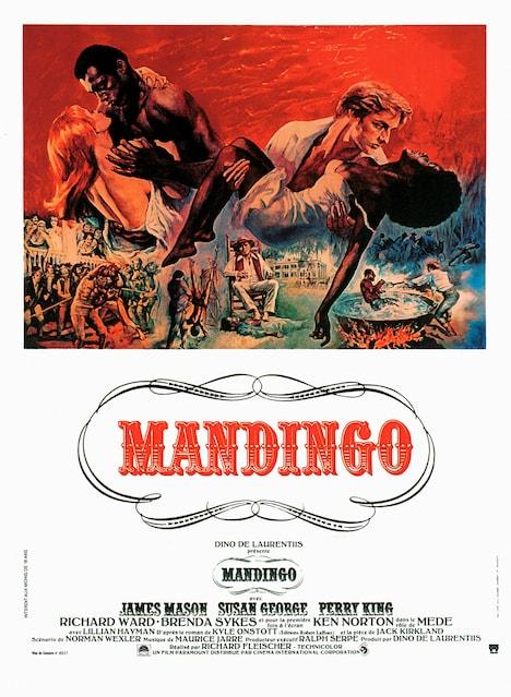 「マンディンゴ」フランス版ポスタービジュアル