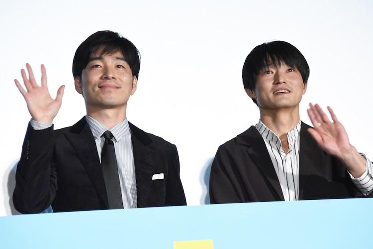 左から後藤淳平、福徳秀介。
