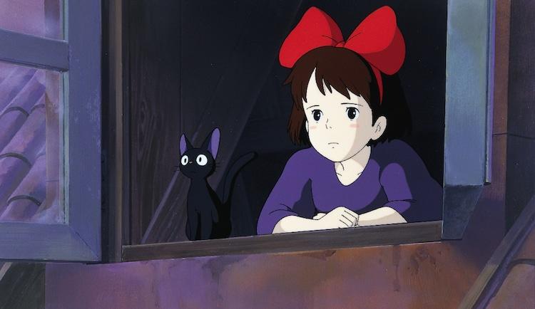 「魔女の宅急便」(1989)スチル 宮崎駿 (c)1989 角野栄子・Studio Ghibli・N