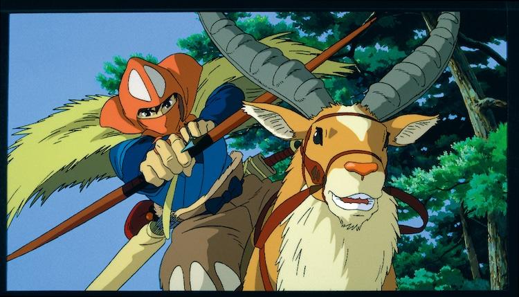 「もののけ姫」(1997)スチル 宮崎駿 (c)1997 Studio Ghibli・ND