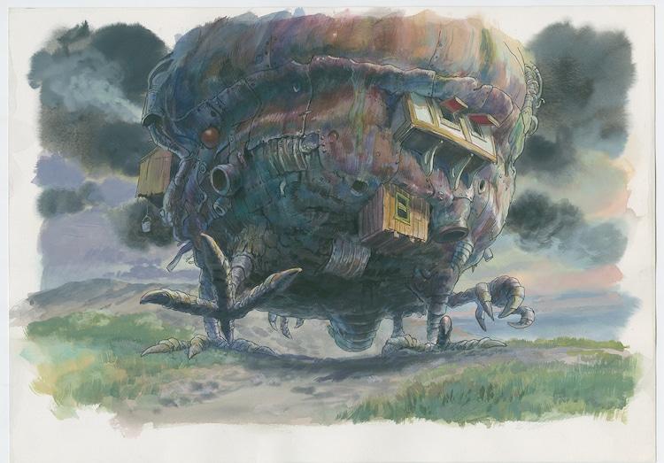 「ハウルの動く城」(2004)美術ボード (c)2004 Studio Ghibli・NDDMT