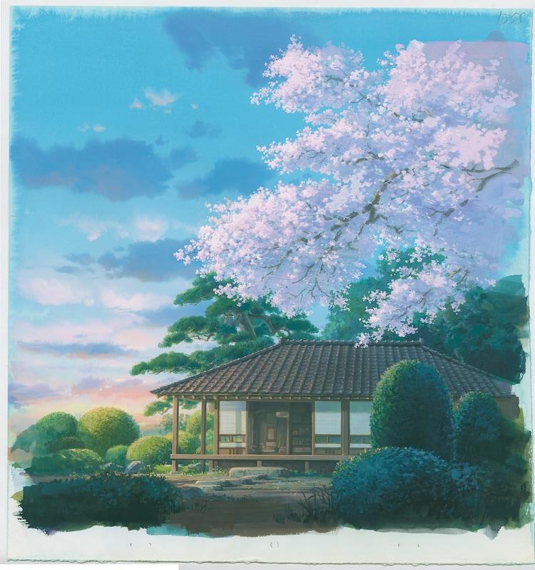 「風立ちぬ」(2013)背景画 (c)2013 Studio Ghibli・NDHDMTK