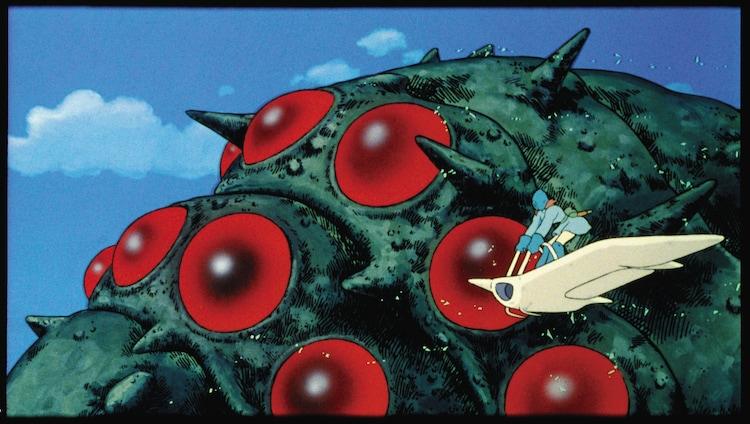 「風の谷のナウシカ」(1984)スチル 宮崎駿 (c)1984 Studio Ghibli・H