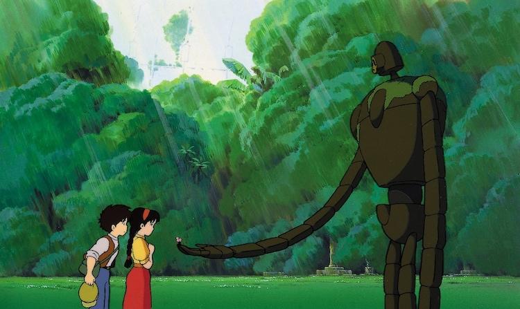 「天空の城ラピュタ」(1986)スチル 宮崎駿 (c)1986 Studio Ghibli