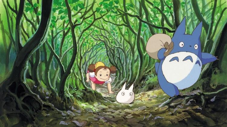 「となりのトトロ」(1988)スチル 宮崎駿 (c)1988 Studio Ghibli