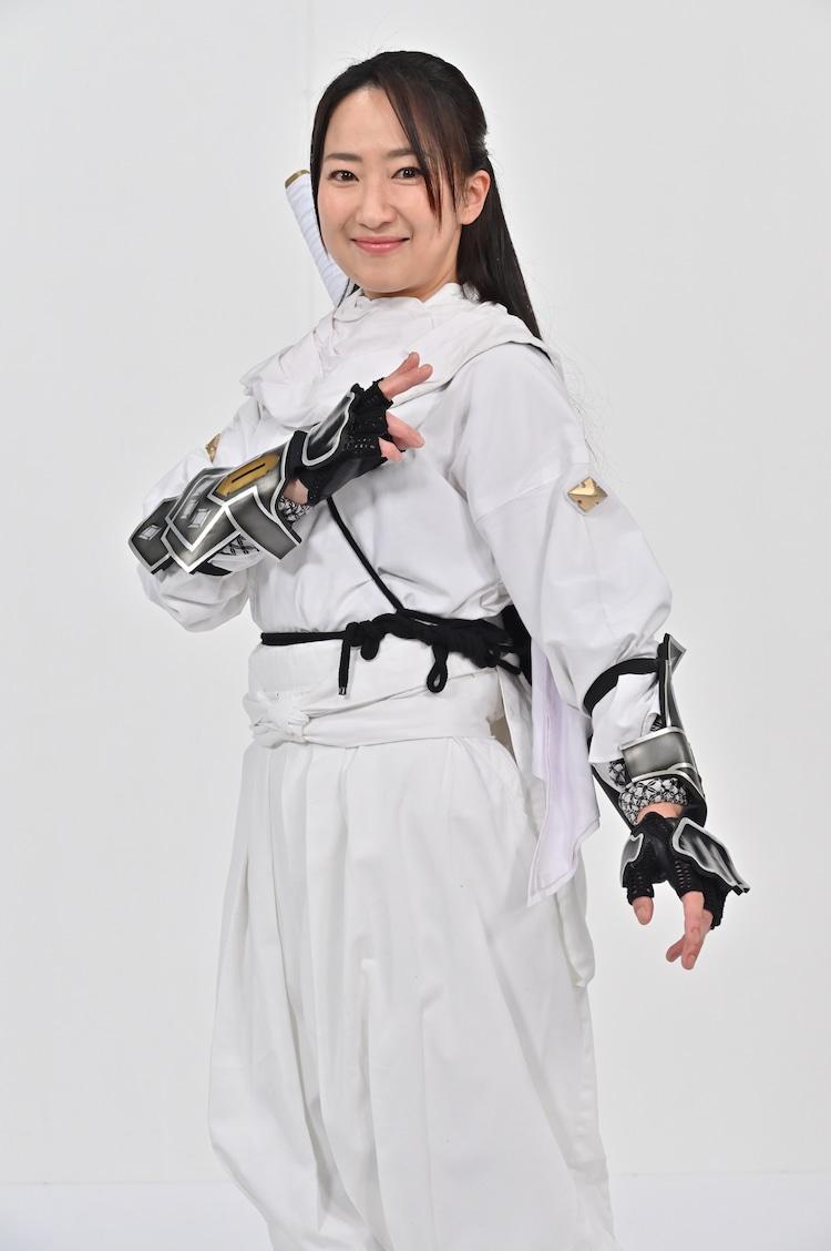 広瀬仁美演じる鶴姫 / ニンジャホワイト。