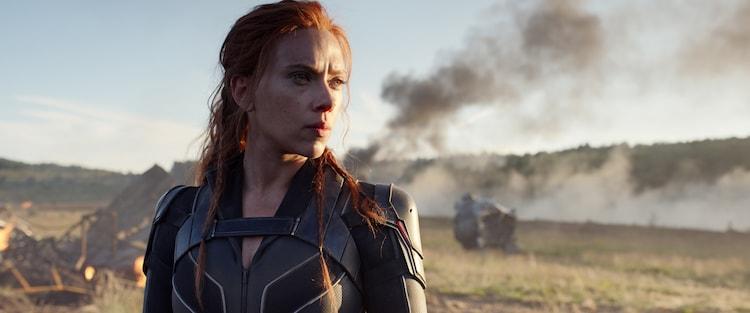 「ブラック・ウィドウ」 (c)Marvel Studios 2021