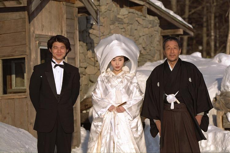 「北の国から '98時代」より。左から吉岡秀隆演じる純、中嶋朋子演じる蛍、田中邦衛演じる黒板五郎。