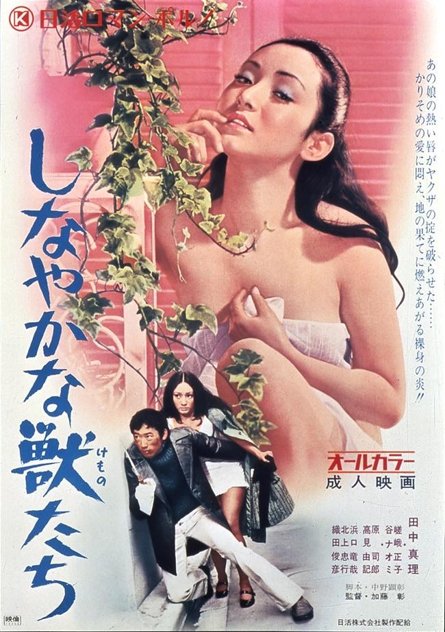「しなやかな獣たち」ビジュアル (c)1972 日活株式会社