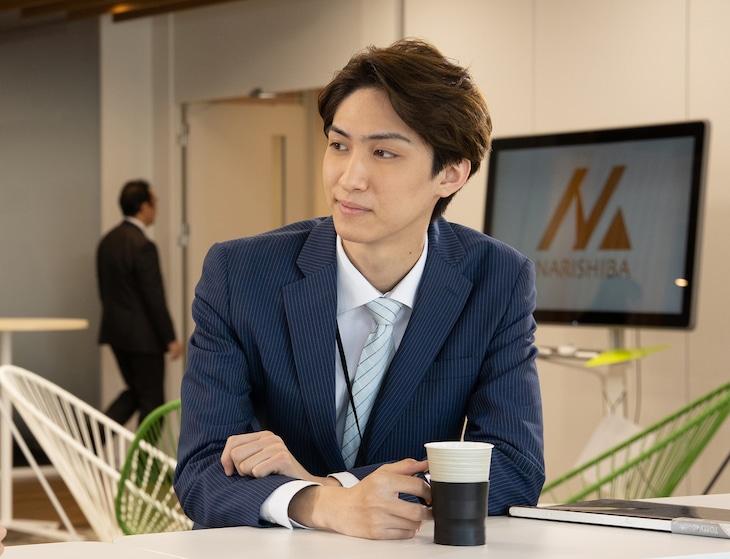 古川毅演じる井上健太。