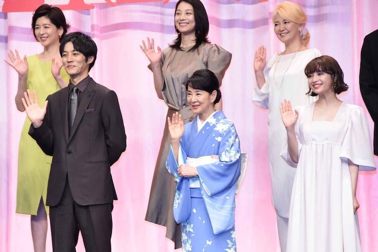 上段左から中山忍、小池栄子、南野陽子。下段左から松坂桃李、吉永小百合、広瀬すず。