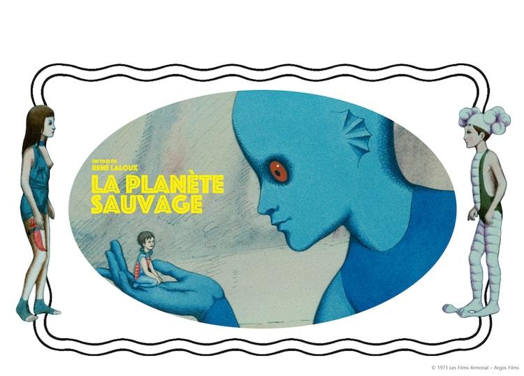 「ファンタスティック・プラネット」オリジナルステッカー
