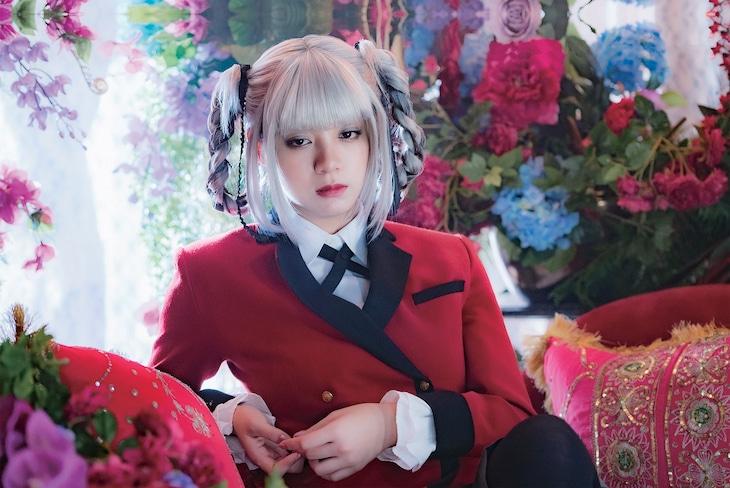 「映画 賭ケグルイ 絶体絶命ロシアンルーレット」より、池田エライザ演じる桃喰綺羅莉。