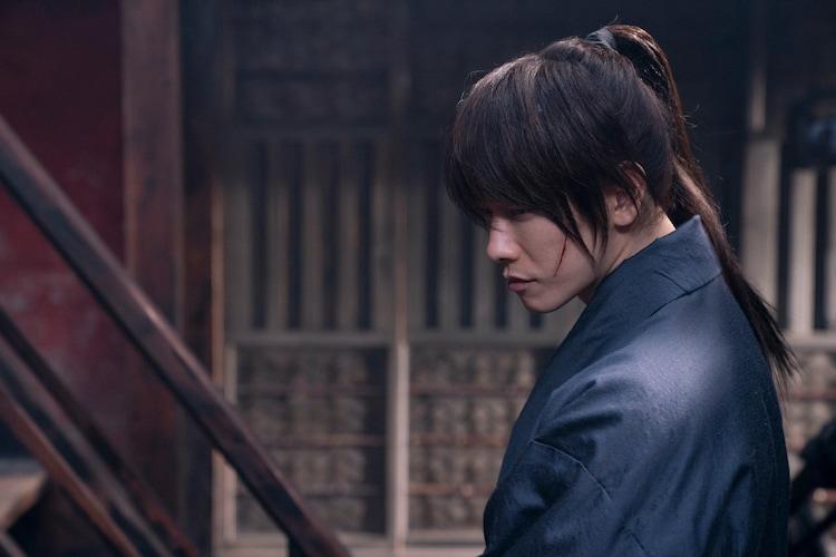 「るろうに剣心 最終章 The Beginning」より、佐藤健演じる緋村剣心。