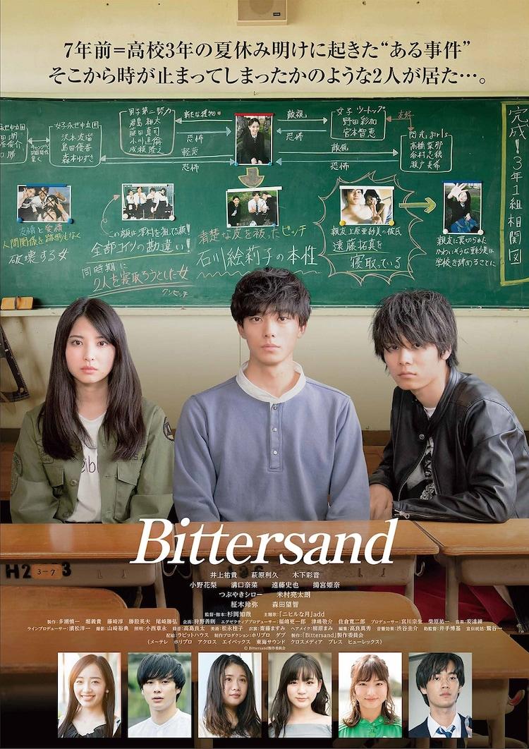 「Bittersand」ポスタービジュアル