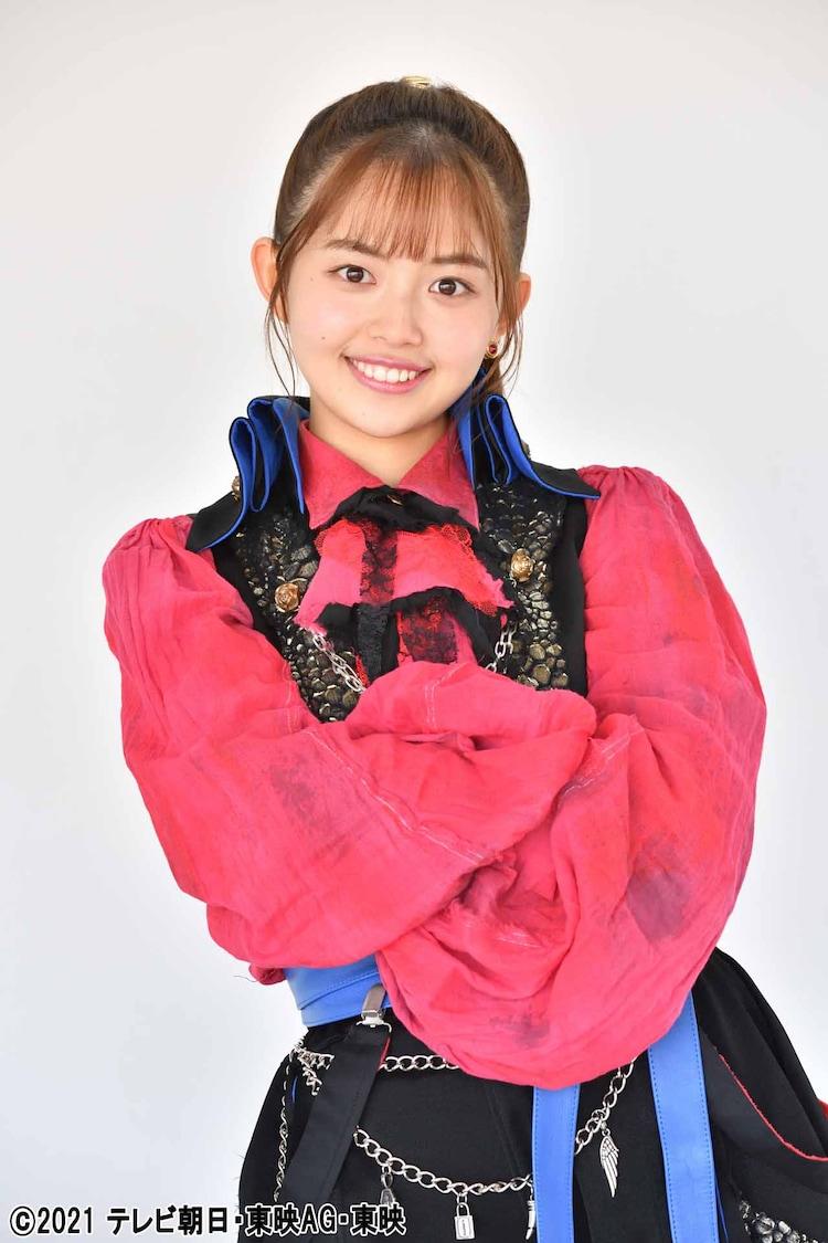 森日菜美演じるフリント・ゴールドツイカー。