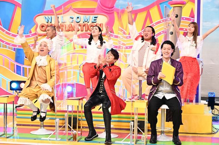 「オトラクション」5月4日放送回の様子。