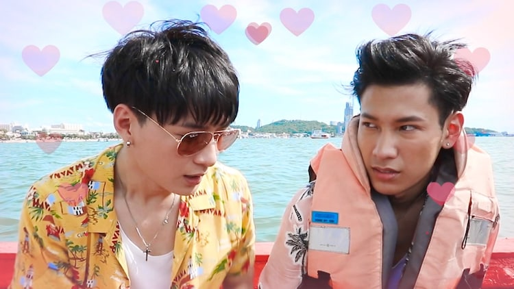 「Friendship with Krist and Singto」 (c)GMMTV