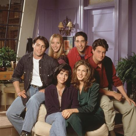 1994年放送「フレンズ」シーズン1のビジュアル。(写真提供:Warner Bros. / Photofest / ゼータ イメージ)