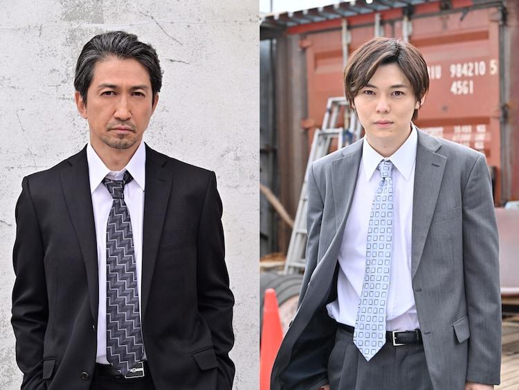 「ヨドンナ」より、神尾佑(左)と岸洋佑(右)が演じる刑事。