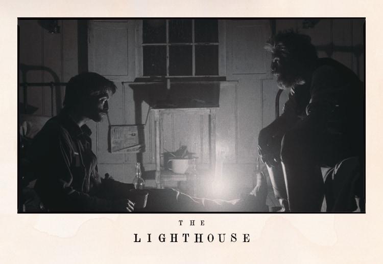 """「『ライトハウス』公開直前!""""光と影""""のスリラー映画特集上映」来場者に進呈されるポストカード。"""