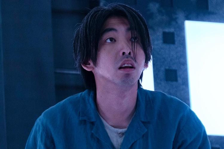 "「CUBE」より、柄本時生演じる""最初の男""。"