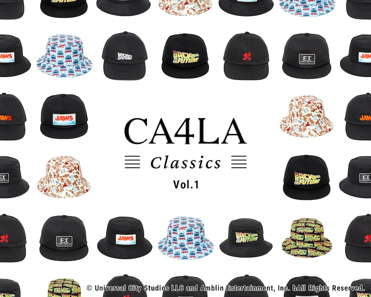 「CA4LA CLASSICS」第1弾の告知ビジュアル。
