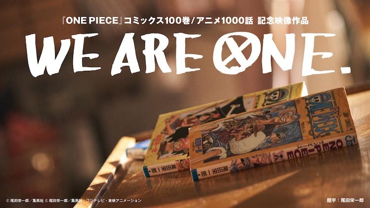 「WE ARE ONE.」ビジュアル