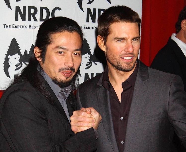 2003年の真田広之(左)とトム・クルーズ(右)。(写真提供:JPI Studios / Avalon / ゼータ イメージ)