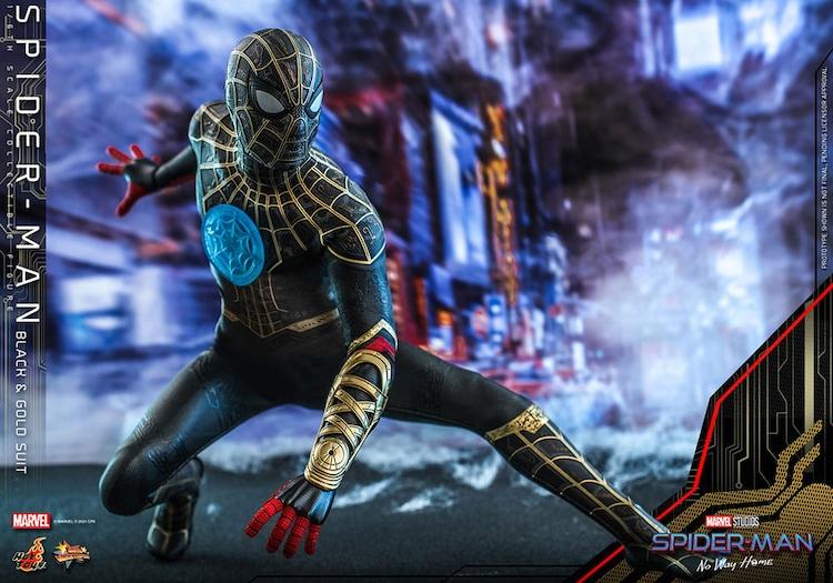 【ムービー・マスターピース】「スパイダーマン:ノー・ウェイ・ホーム」スパイダーマン(ブラック&ゴールドスーツ版)