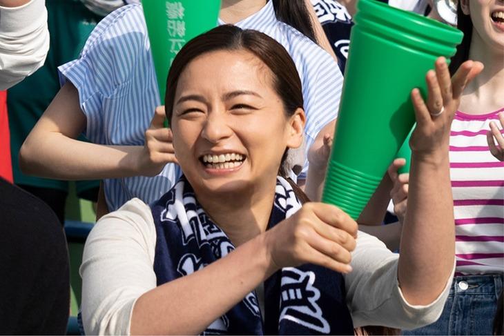 「20歳のソウル」より、尾野真千子演じる浅野桂子。