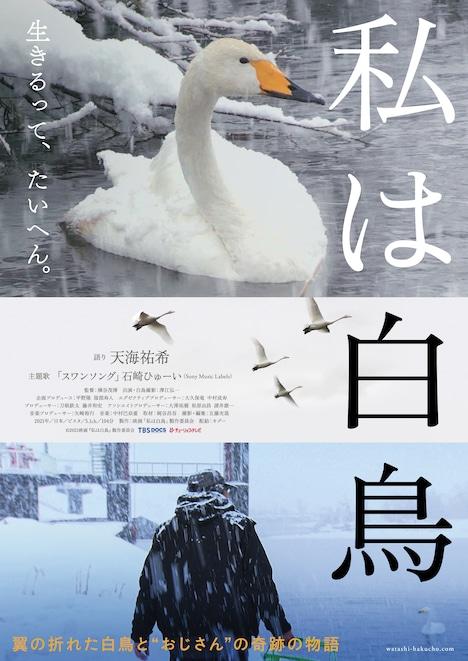 「私は白鳥」ポスタービジュアル