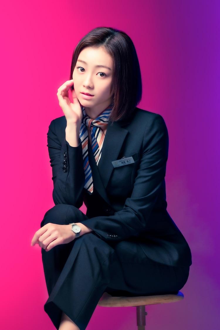 雨樹凛子役の高田夏帆。