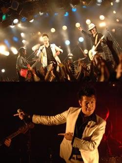 ボーカル竜二はこのツアーのために白いスーツを新調。あいかわらずのキレのあるダンスでオーディエンスを沸かせてくれた。
