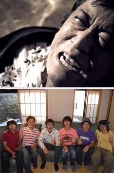 迫真の泣き顔を披露する吉田敬。ほぼ1日をかけて全ての撮影が終わったときには、キンモクセイ&撮影スタッフ一同から拍手が鳴り止まなかったという。
