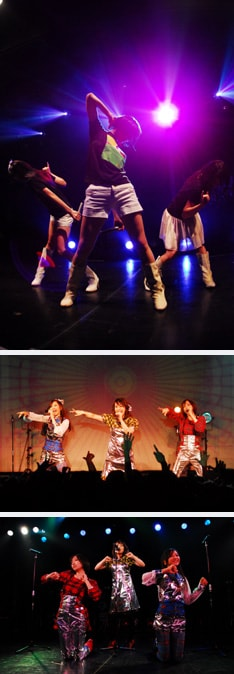 11月14日深夜24時よりNHK-BS2にてオンエアされる「WEDNESDAY J-POP」では、今回のライブの模様および3人へのインタビューが放送されるとのこと。惜しくも当日参加できなかったファンはオンエアを楽しみにしておこう。