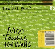 NICO Touches the Wallsは昨日12月28日に「COUNTDOWN JAPAN 07/08」に出演。年内最後となる熱いパフォーマンスを披露した(写真は最新ミニアルバム「How are you ?」)。