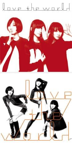 Perfumeは7月9日にニューシングル「love the world」(写真)を発売。これに先駆けて現在、着うたの配信がスタートしている。