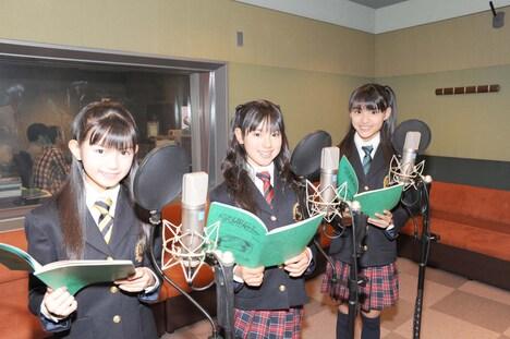 アニメになった可憐Girl'sは、来年1月4日にオンエアされる次回予告篇にも登場。
