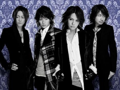 L'Arc-en-Cielは、5月22日から24日まで東京・赤坂Sacasにてイベント「L'Arc-en-Ciel Museum」を開催。イベントでは、ワールドツアー「TOUR 2008 L'7~Trans ASIA via PARIS~」のライブ映像上映会などが行われる(写真は右クリック禁止です)。