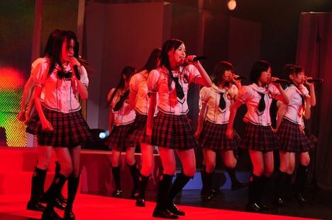 メジャーデビューシングル「強き者よ」を、初めてファンの前で披露したSKE48。