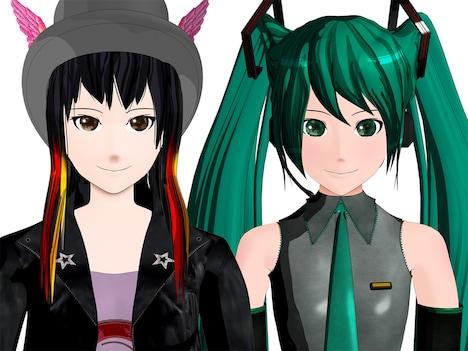 「SHIBUYA」に付属するDVDには、BECCAと初音ミクの3DCGキャラによるアニメビデオクリップが収録される。