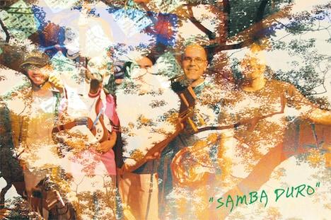 タイトルの「SAMBA DURO」はポルトガル語で「ラフなサンバ」もしくは「リオ・デ・ジャネイロの街で繰り広げられる、互いの音楽とダンスの美しさを競いあうサンバの戦い」という意味。