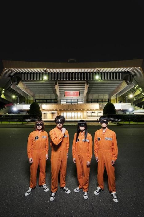 POLYSICSが武道館のステージに立つのは今回のライブが初めて。ワンマンライブとしても過去最大規模となる。