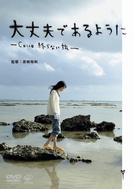 DVD「大丈夫であるように -Cocco 終わらない旅-」は12月25日からレンタル開始(写真は通常盤ジャケット)。